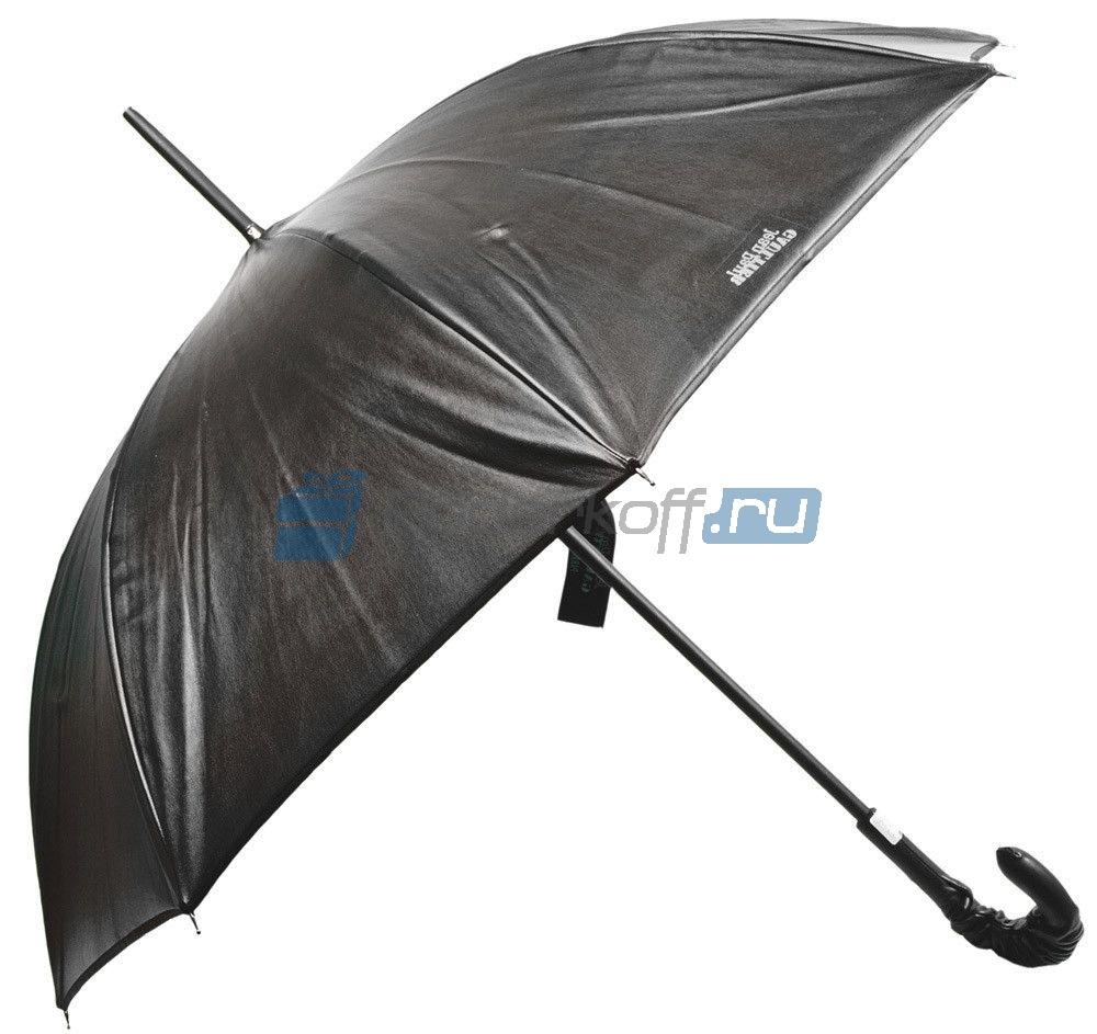 Зонт-трость Jean-Paul Gaultier из мягкой телячьей кожи