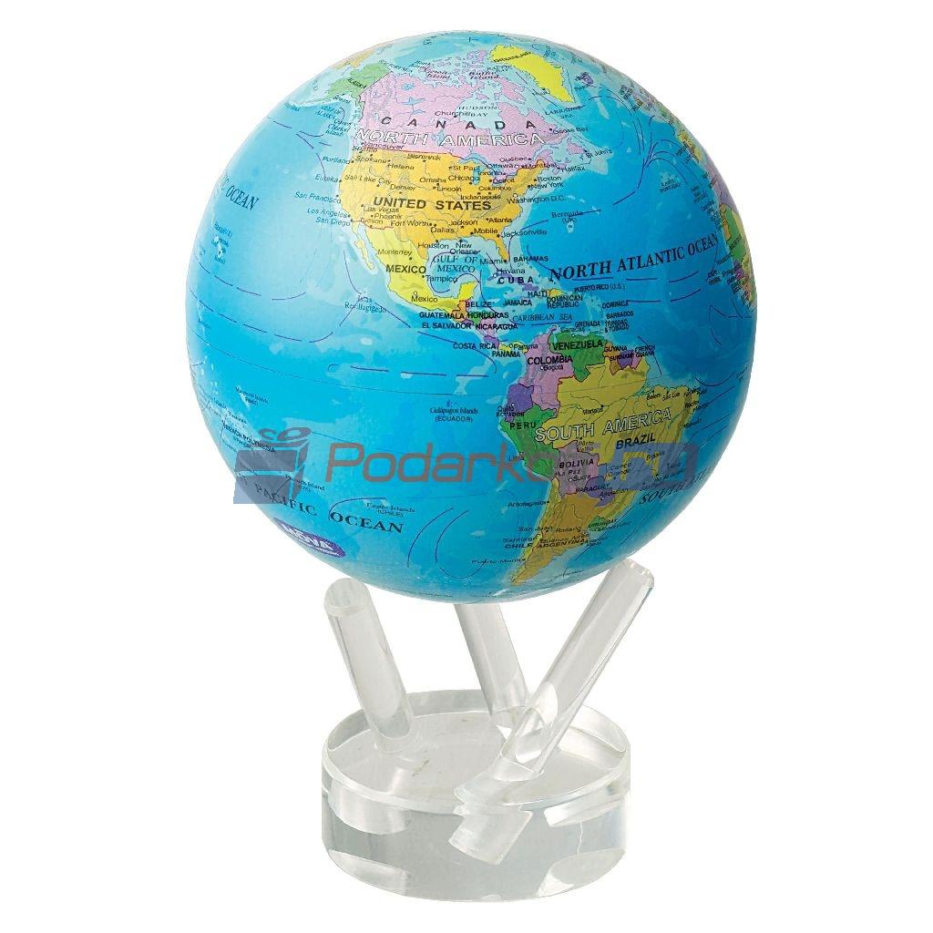 Глобус мобиле с политической картой мира, классический, d 12