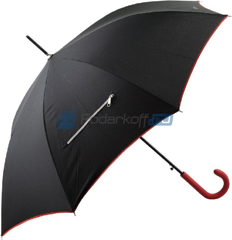 Зонт-трость Ferre (Джанфранко Ферре) с молнией