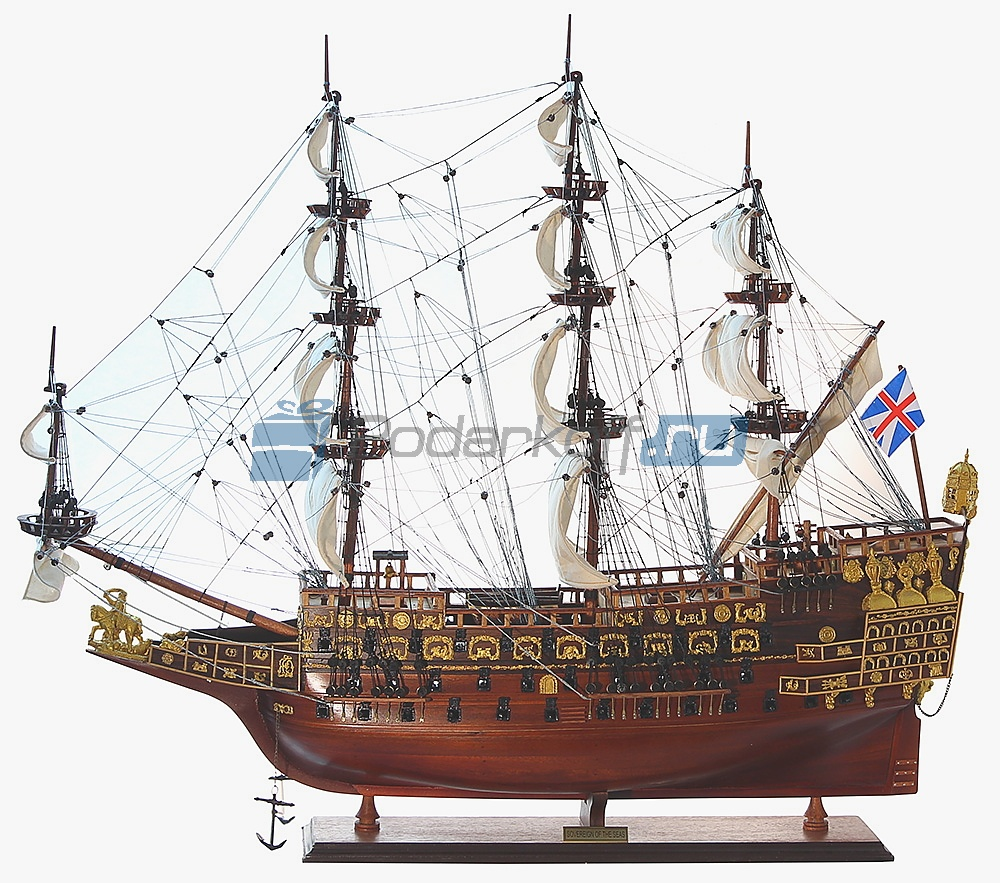 "Модель парусника ""Sovereign of the seas (Повелитель Морей)"" 90 см"
