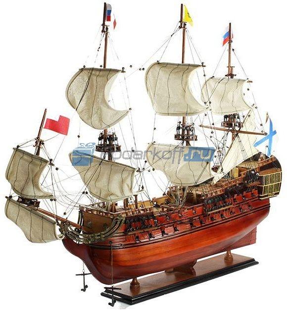 """Модель корабля Линкор """"Полтава"""" 1783 г. 94 см"""