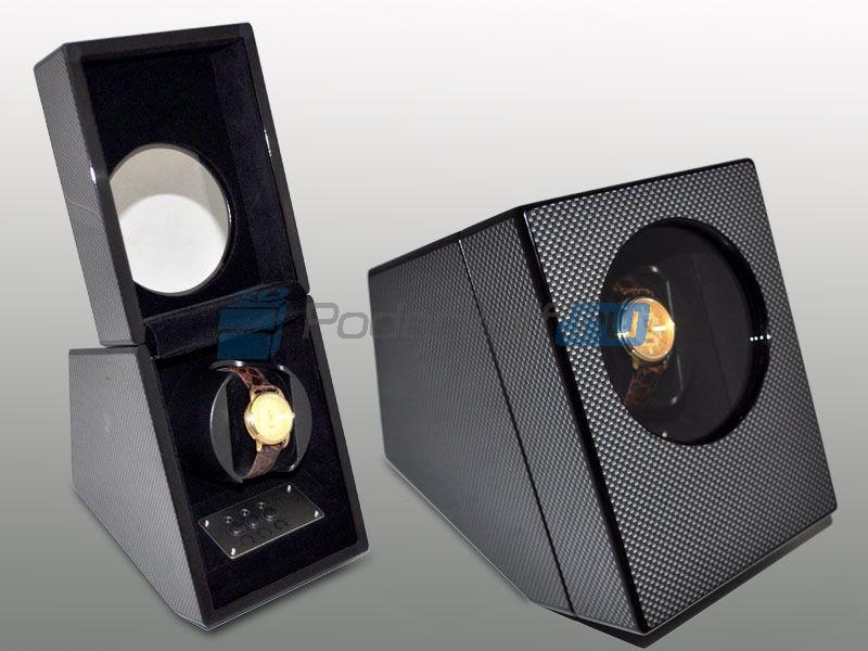 Шкатулка для часов с автоподзаводом, серая - 1