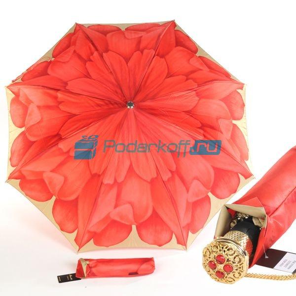 Зонт Складной женский Pasotti Auto Korall Lux