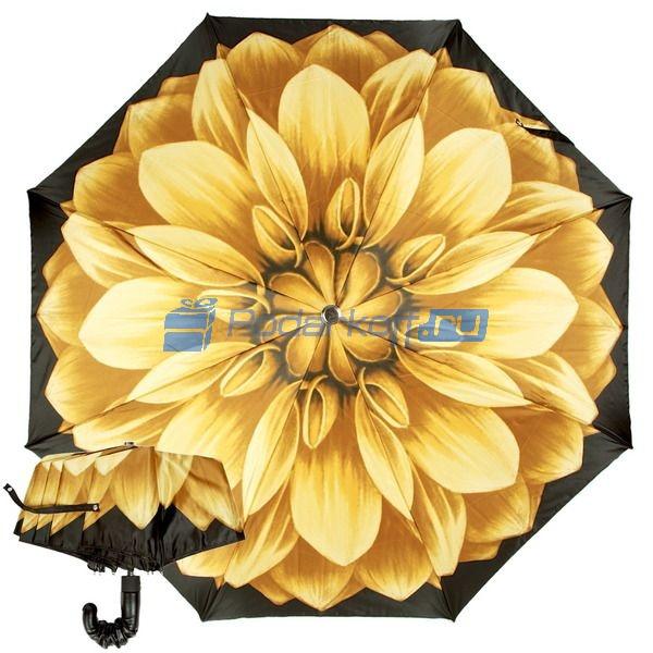Зонт Складной женский Pasotti Auto Giallo Pelle