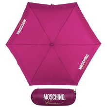 Зонт складной Moschino 8014-superminiX Couture! Bordeaux
