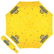Зонт складной Moschino 8069-OCU DJ bear Yellow